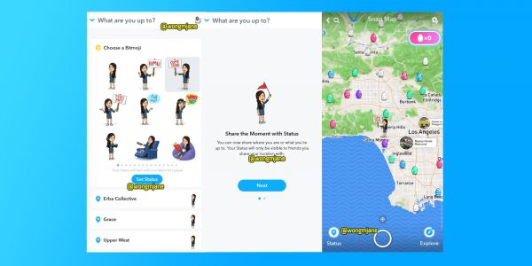 Snapchat preparing new Foursquare-like location features 'Status' and 'Passport'