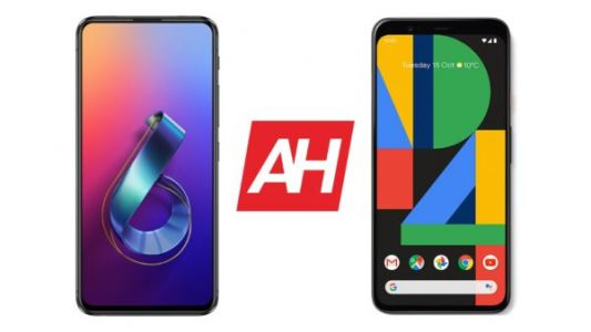 Phone Comparisons: ASUS ZenFone 6 vs Google Pixel 4 XL