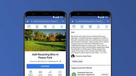 Facebook's new 'Community Actions' will bring user-made petitions to your feed
