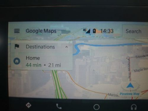 Google Looking Into Why Android Auto Looks Pixelated For Some