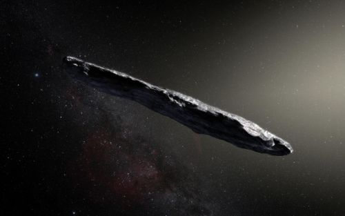 First-known interstellar visitor is a bizarre, cigar-shaped asteroid