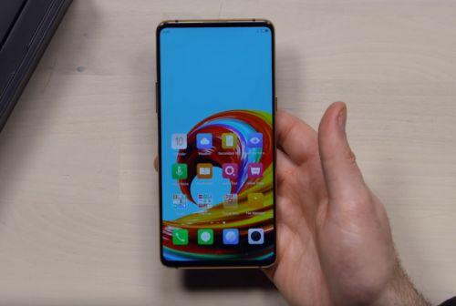 ZTE Nubia X dual screen smartphone in action