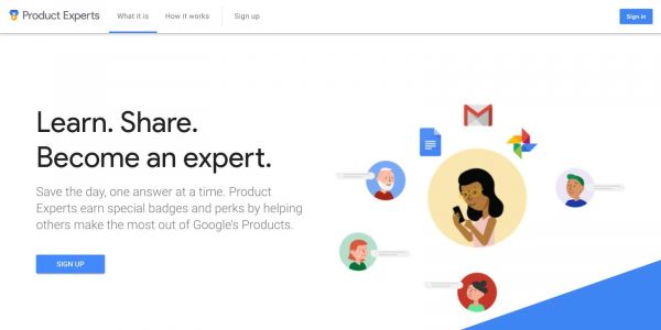 Top Contributors community program rebranded to Google Product Experts