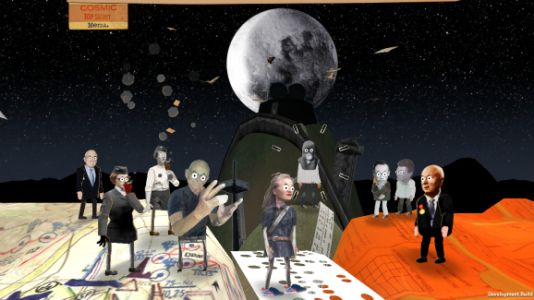 Cosmic Top Secret is a charming mobile game about one family's Cold War secrets
