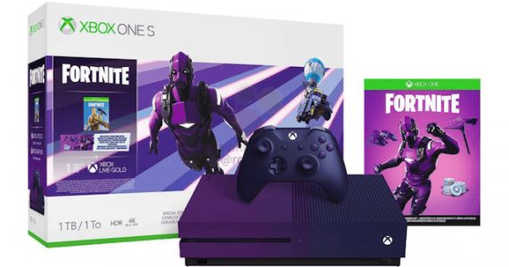 Fortnite Fans Will Love The Upcoming Purple Xbox One S