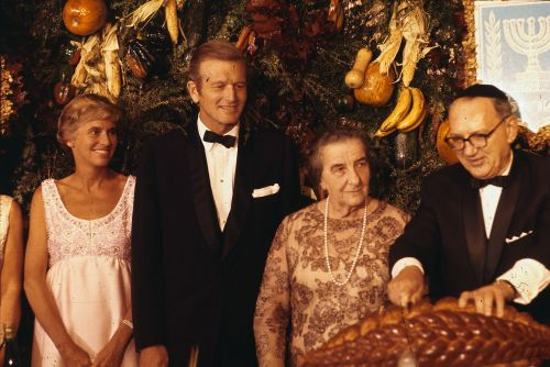 How Mayor John Lindsay Built a Sukkah for Golda Meir in 1969, and Changed NYC Politics
