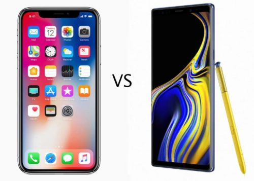 IPhone X vs Galaxy Note 9 Benchmarks