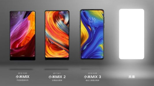 Xiaomi's Mi Mix 4 could offer an under display camera and insane120W charging