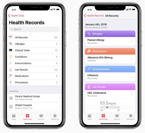 Apple's iOS 'Health Records' Feature Now Works With 75+ Providers