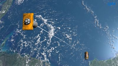 Japan's plan for all space junk? They're making a massive space tether