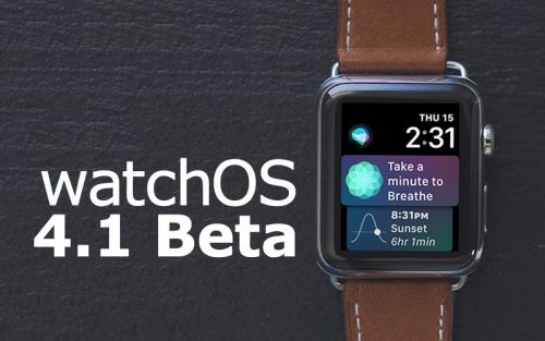 Apple Seeds Fourth Beta of watchOS 4.1 to Developers