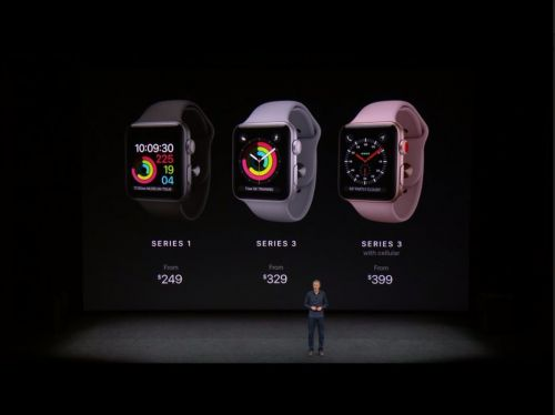 The Just-Announced 'Apple Watch Series 3' Has Cellular Connectivity