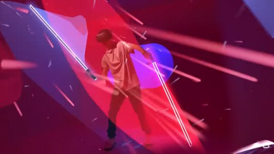 Oculus Quest's powerful, portable VR, as proven by the fun of Beat Saber
