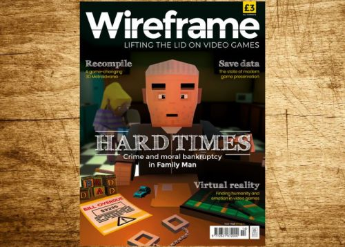 Wireframe gaming magazine issue 14 now available