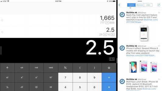 Calcbot updated w/ iPad enhancements, Taptic Engine support on iPhone, more