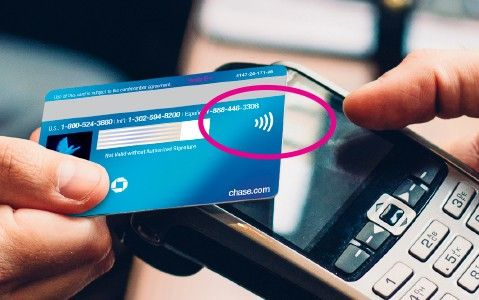 Which credit cards support contactless payment?