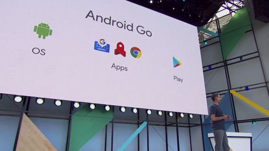 The first Android Go smartphone to be launched at the MWC 2018