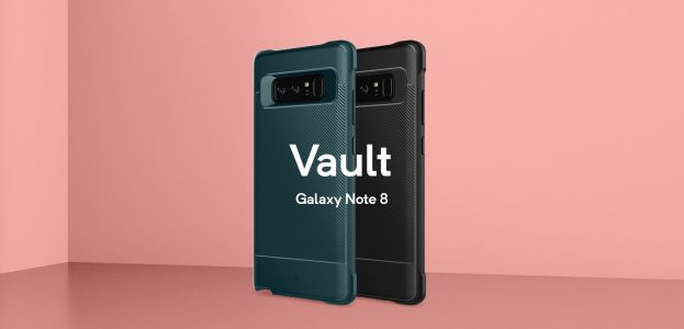 Caseology Vault Case Protects Galaxy Note 8 Without The Extra Bulk