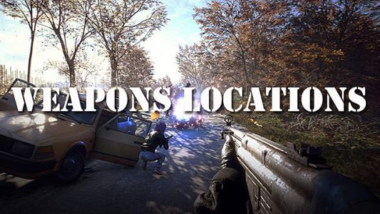 Generation Zero Guide: All Weapons Locations