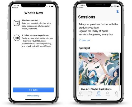 Apple Store App Gains Major Update With Refreshed Design, Sessions Tab, and 'More Personal' In-Store Experience