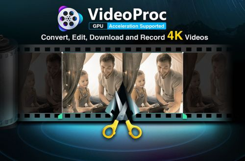 VideoProc: Convert, Edit and Process any 4K Video with Ease