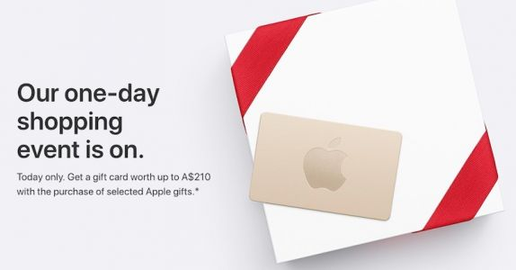 Apple's Black Friday Event Begins in Australia and New Zealand With Free Gift Cards Up to $210