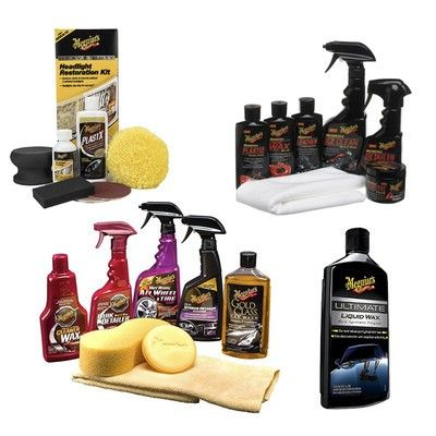 Rid your car of its winter grime with Meguiar's discounted cleaning kits