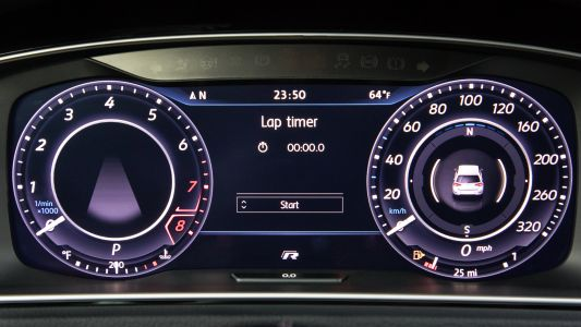 This button on the 2018 VW Golf takes you from thrill ride to cushion of air