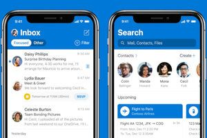 Outlook for iOS update finally brings iCloud support