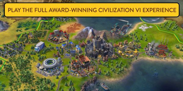 Sid Meier's Civilization VI arrives on iPhone, free to iPad players