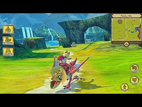 Monster Hunter Stories Now Available for Smartphones in the West