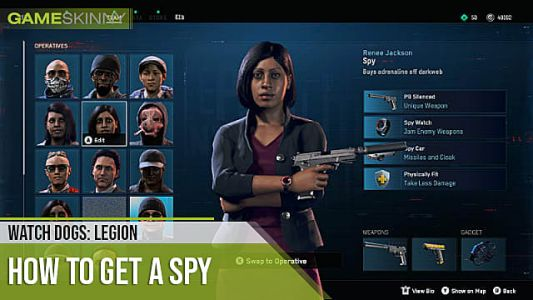 Watch Dogs Legion Spy Location Guide: How to Find Spies