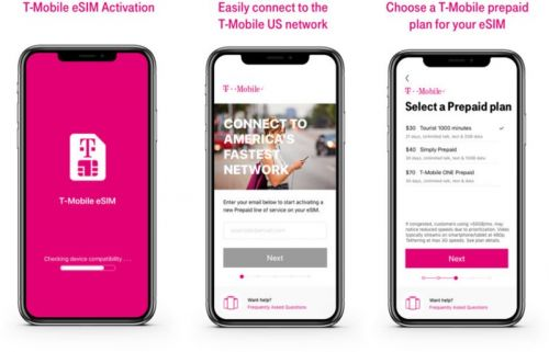 T-Mobile Becomes Third U.S. Carrier to Offer eSIM Support on iPhone XS, XS Max, and XR