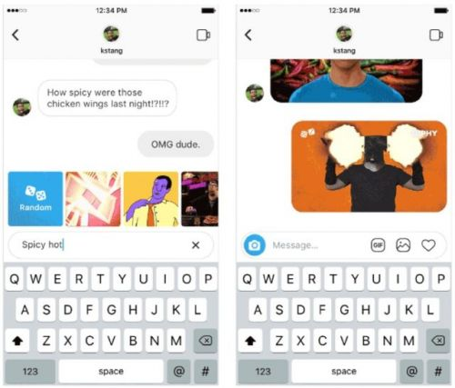 Instagram Now Lets Users Send GIFs In Direct