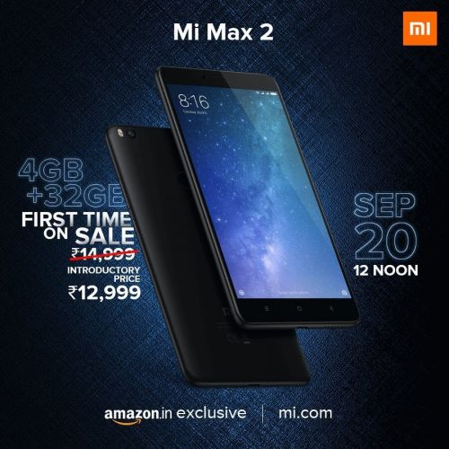 Xiaomi Mi Max 2 Android Phablet Releasing In India This Week