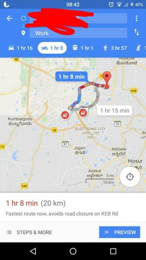 Google Maps' Motorcycle Mode Is Going Live In India