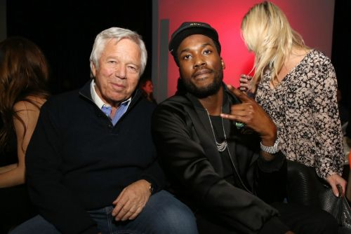 Robert Kraft Visits Meek Mill in Prison