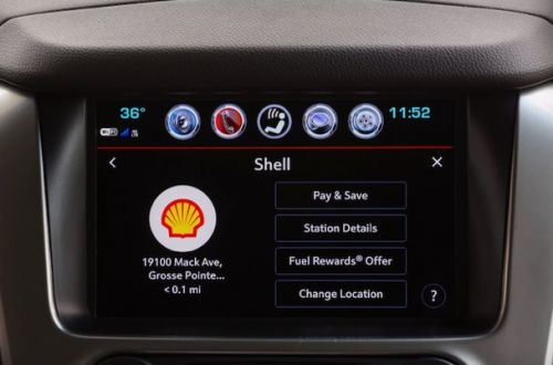 Chevrolet Will Let Owners Pay For Gas From Inside Their Car