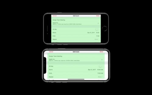 Apple dictates that all new apps must fully support the iPhone X screen