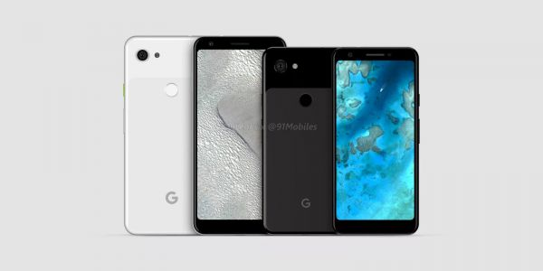 Google Pixel 3 XL Lite renders leak, 6-inch display w/ no notch