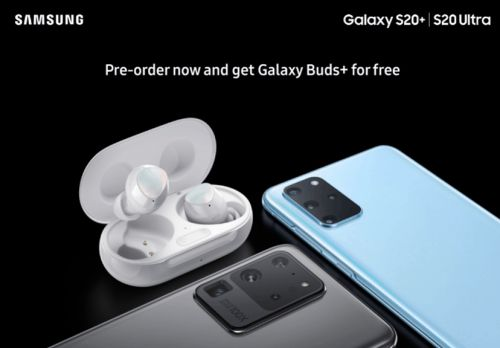 Galaxy Buds+ Will Ship With Galaxy S20 & S20 Ultra Pre-Orders