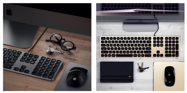 Satechi unveils new wired & wireless extended keyboards in Apple-friendly colors