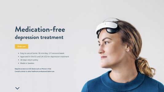 You can now buy a brain stimulation headset to treat your depression