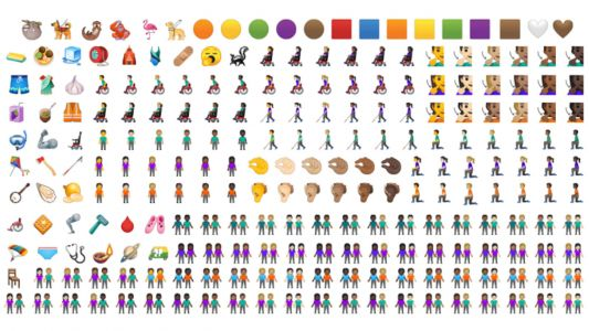 These are the new Android emoji you'll be using on your phone later this year