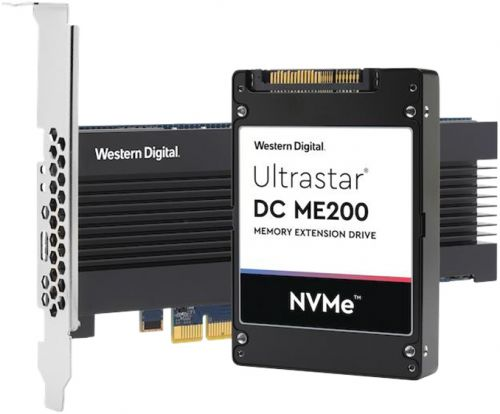 Western Digital Announces Ultrastar DC ME200 Memory Extension Drive