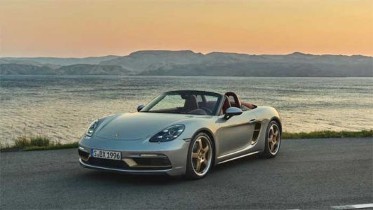 Limited-edition Porsche Boxster 25 Years launches