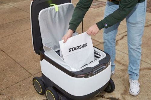 Starship Technologies raises $40 million for autonomous delivery robots