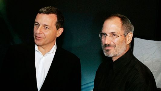 Bob Iger says Apple and Disney were on a path to merge under Steve Jobs