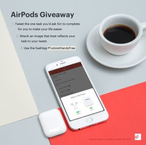 Todoist is Doing an AirPods Giveaway - Geek News Central