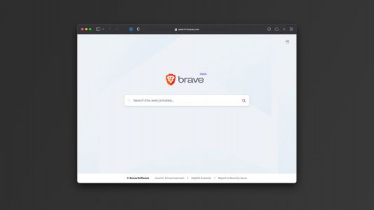 Brave launches public beta version of its search engine with anti-tracking features